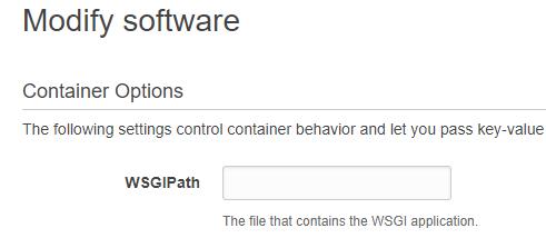 WSGI Configuration
